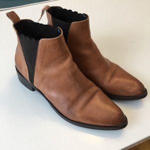 Vintage Brown Chelsea Boots